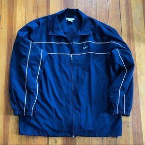 Men's Navy Blue Nike Windbreaker Jacket